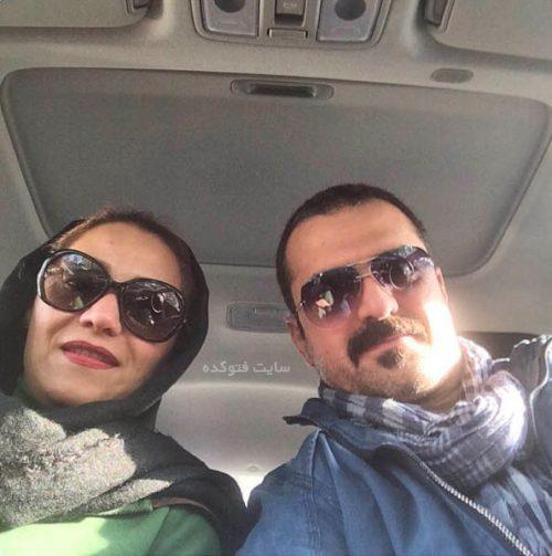 عکس شبنم مقدمی و همسرش علیرضا آرا
