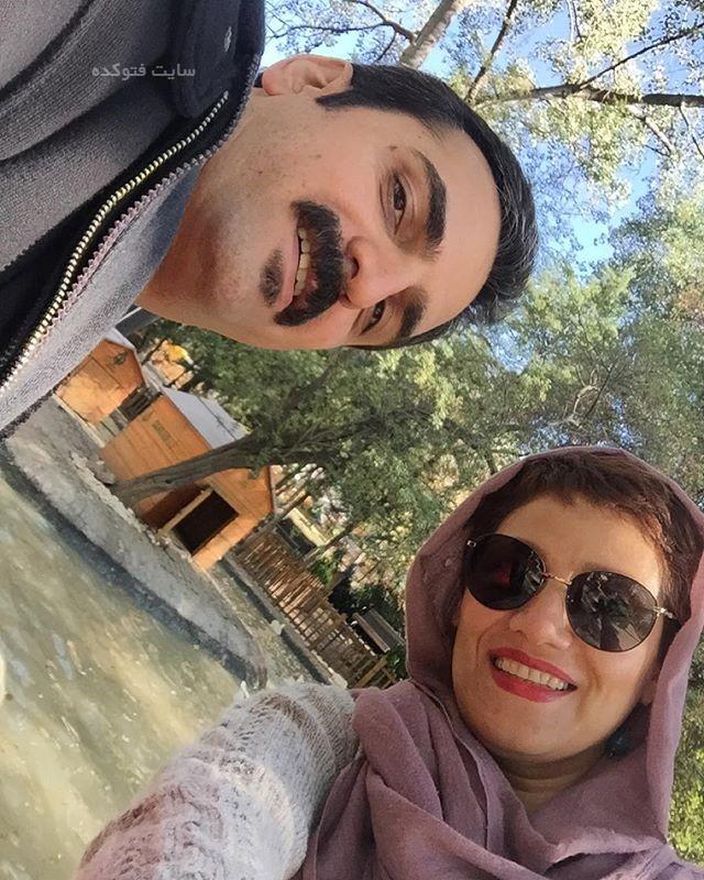 عکس شبنم مقدمی و همسرش علیرضا محمدی (آرا) + بیوگرافی