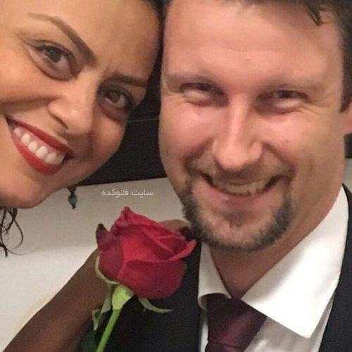 شبنم فرشادجو و همسرش