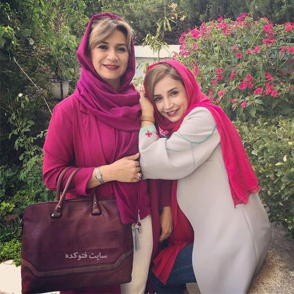 عکس شبنم قلی خانی و خواهر بزرگترش