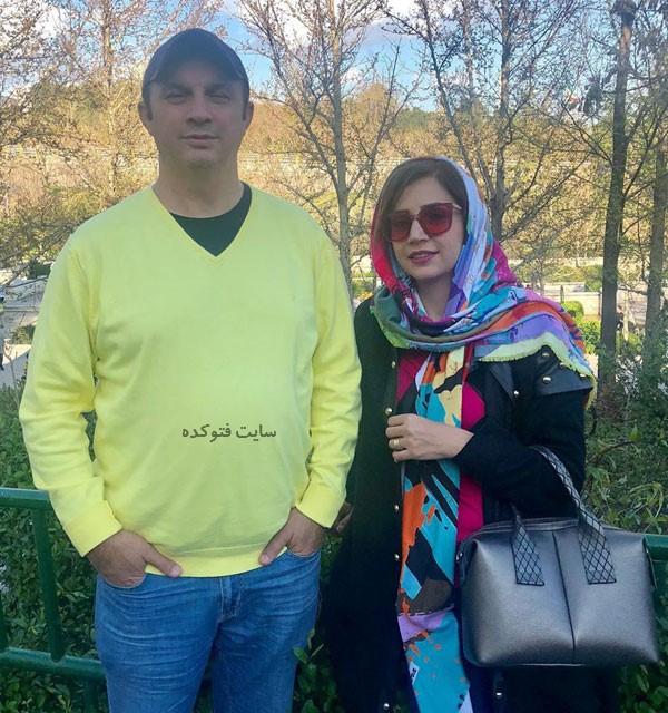 عکس شبنم قلی خانی و برادرش