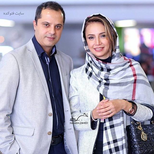 عکس شبنم قلی خانی و همسرش رضا + بیوگرافی