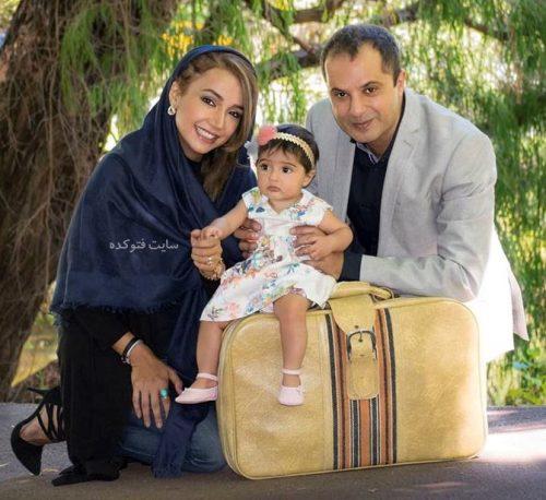 عکس خانوادگی شبنم قلی خانی + دخترش شانا
