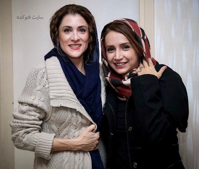 عکس شبنم قلی خانی و ویشگا آسایش + زندگینامه