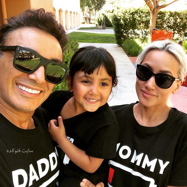 shadmehr music photokade com 1 - بیوگرافی شادمهر عقیلی و همسرش ملیسا میامسا + دخترش