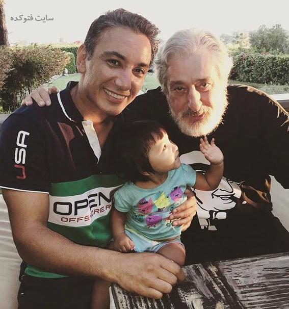 عکس شادمهر عقیلی و دخترش در کنار ابی + زندگینامه