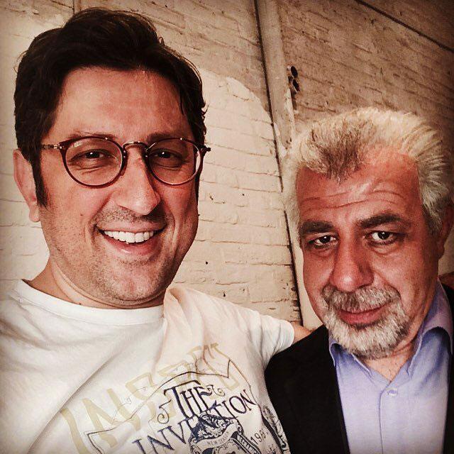 عکس های بهرام شفیع و شهاب عباسی