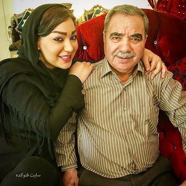 عکس شقایق دلشاد shaghayegh delshad و پدرش
