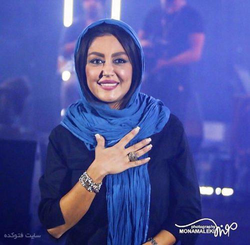 عکس شقایق فراهانی در کنسرت موسیقی + زندگینامه و همسرش