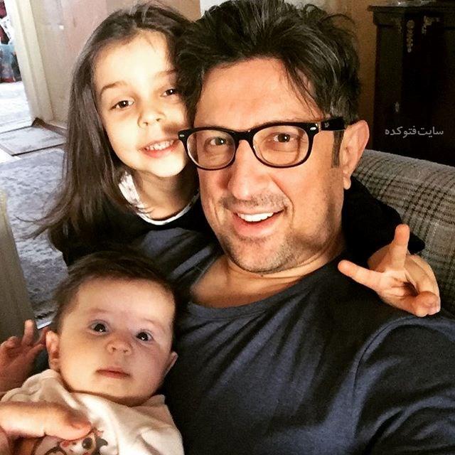 شهاب عباسی و خواهرزاده هایش + بیوگرافی کامل