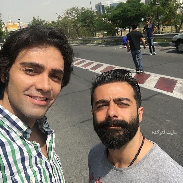 عکس شهاب شادابی بازیگر و مدل + بیوگرافی