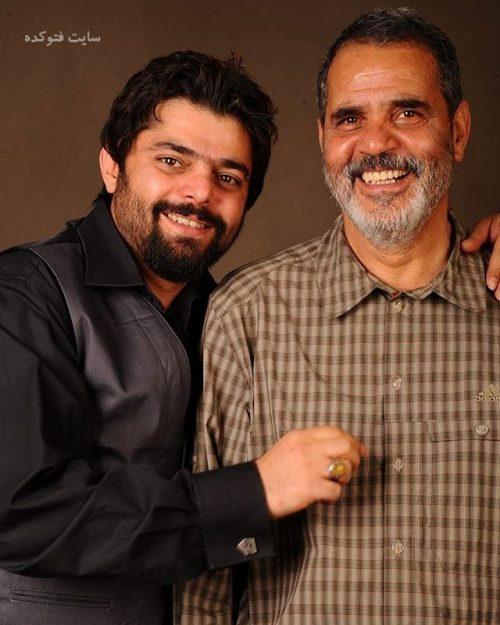 عکس شاهد احمدلو و پدرش + بیوگرافی کامل