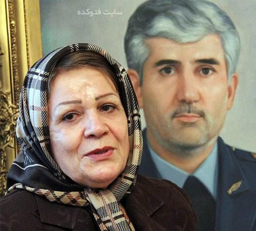 منصور ستاری و همسرش حمیده پیاهور