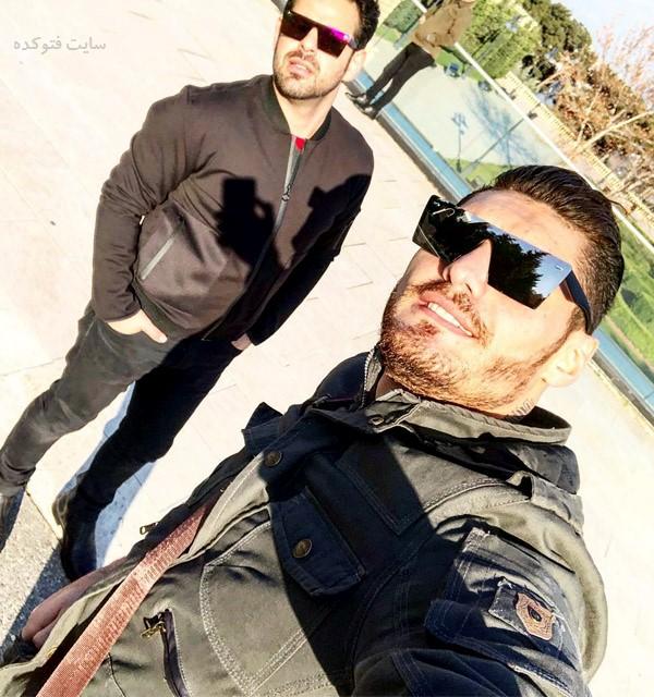 عکس شاهین بالیجانی بازیکن فوتبال