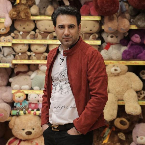 عکس و بیوگرافی شاهین صمدپور گزارشگر و مجری