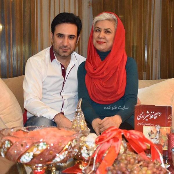 عکس های شاهین صمدپور گزارشگر و مادرش + بیوگرافی