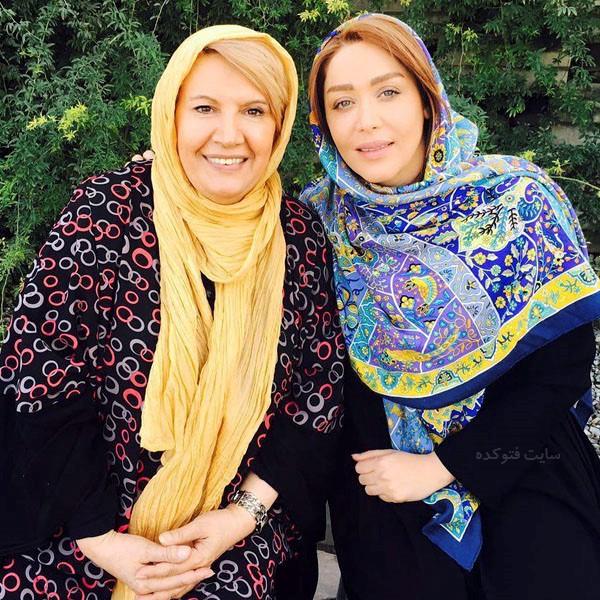 عکس شهین تسلیمی و سازا منجزی پور