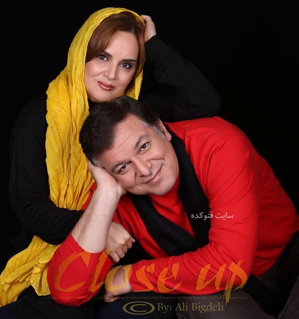 شهناز شهبازی و همسرش شاهین باباپور + بیوگرافی کامل