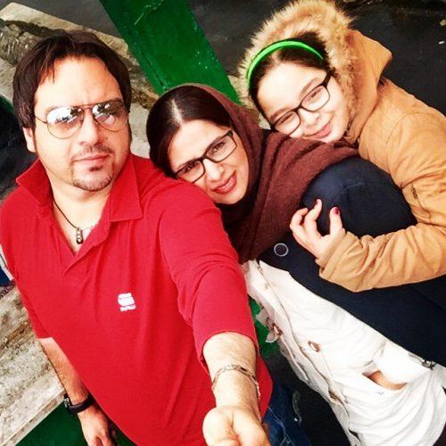 عکس خانوادگی شهرام قائدی + زندگینامه