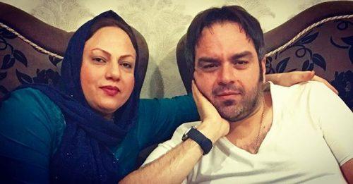 عکس شهرام قائدی و خواهرش لیلا