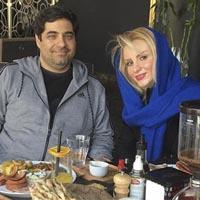 شهرام جزایری و همسرش | عکس و بیوگرافی