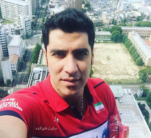 بیوگرافی شهرام محمودی والیبالیست تیم ملی