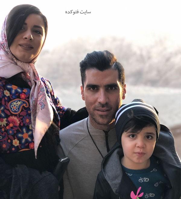 بیوگرافی شهرام محمودی با عکس های خانوادگی و پسرش
