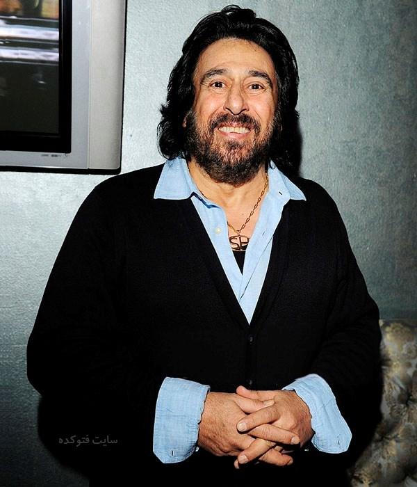 عکس و بیوگرافی شهرام شب پره خواننده لس آنجلسی