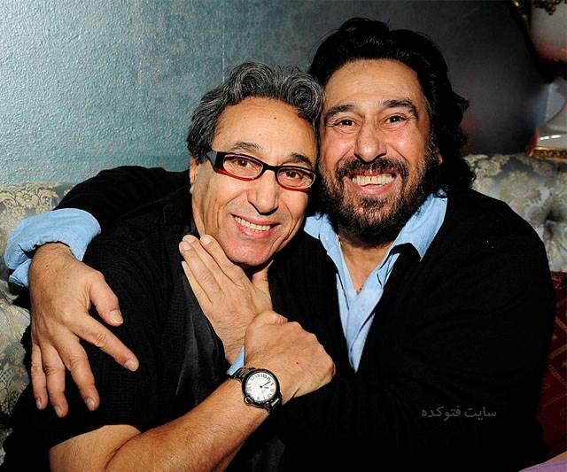 عکس شهرام شب پره و برادرش شهبال + بیوگرافی و زندگی شخصی