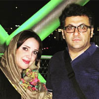 بیوگرافی شهرام عبدلی و همسرش + عکس فرزندان