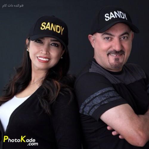 عکس شهرام آذر و همسرش