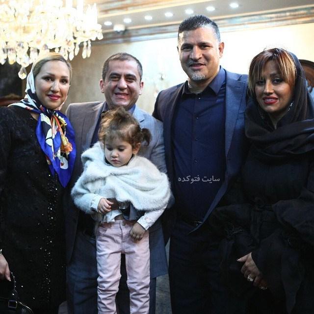 عکس شهرام فخار و همسرش + زندگینامه و بیوگرافی کامل