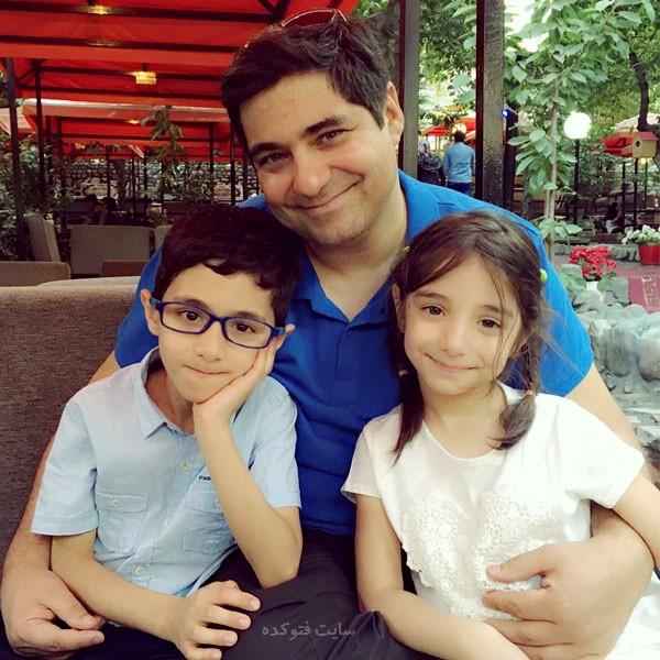 عکس فرزندان شهرام جزایری + بیوگرافی کامل