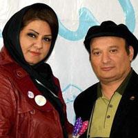 شهرام لاسمی (قلقلی) و همسرش عاطفه پازوکی + بیوگرافی