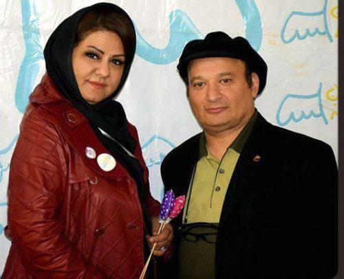 عکس شهرام لاسمی (قلقلی) و همسرش عاطفه پازوکی