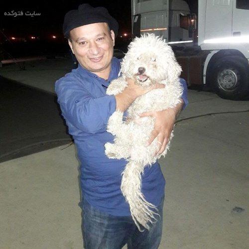 شهرام لاسمی و سگش