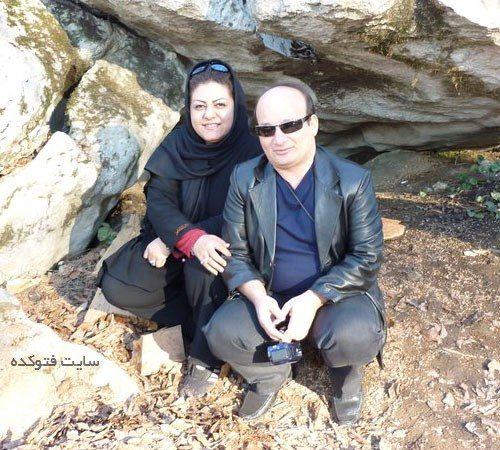 همسر شهرام لاسمی معروف به قلقلی