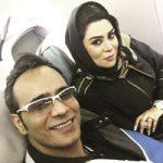 بیوگرافی شهرام شکوهی | شهرام شکوهی و همسرش دلارام