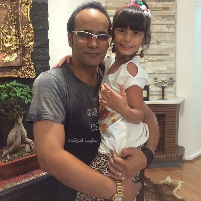 عکس های شهرام شکوهی و دخترش ملودی