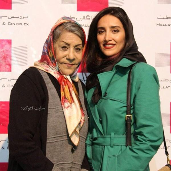 عکس های شهربانو موسوی بازیگر و دخترش فرانک تمنا