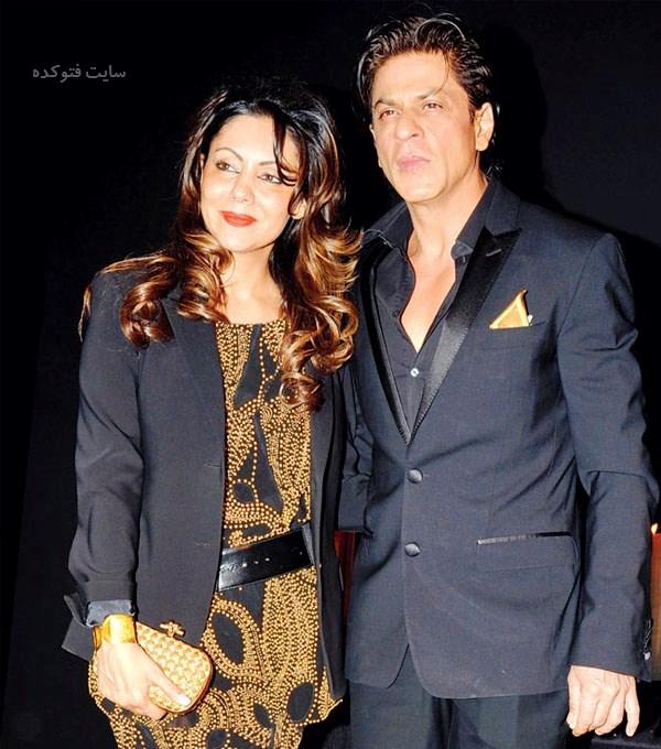 عکس شاهرخ خان و همسرش گوری خان + بیوگرافی کامل
