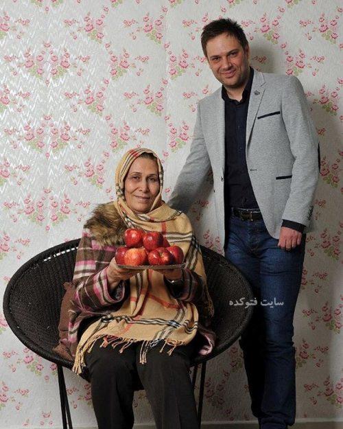 عکس شهروز ابراهیمی و مادرش + زندگینامه کامل