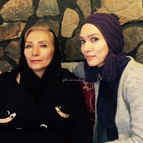 عکس شهرزاد کمال زاده و مادرش + زندگینامه