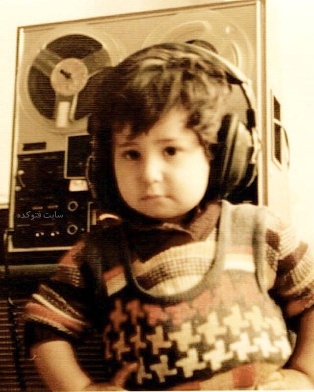 عکس کودکی شهیاد خواننده لس آنجلسی