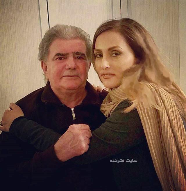 عکس محمدرضا شجریان در کنار همسرش کتایون سال 2017