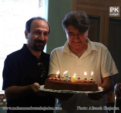 عکس های جشن تولد محمدرضا شجریان