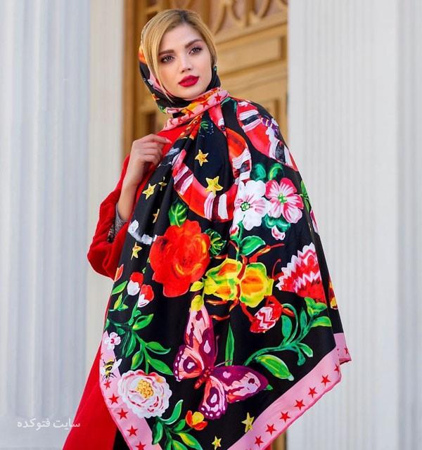 مدل لاکچری و خفن شال و روسری عید