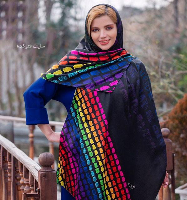 مدل روسری دخترونه برای عید