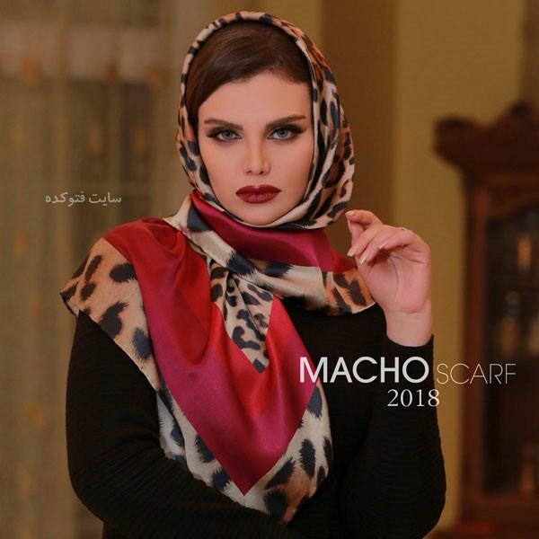 مدل شال و روسری جدید عید نوروز 97 - 2018