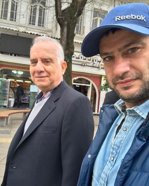 عکس شهرام حقیقت دوست و پدرش + بیوگرافی
